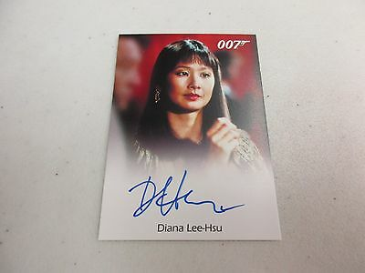 2017 James Bond Archives Final Edition Diana Lee-Hsu as Loti Autograph