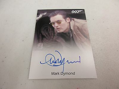 2017 James Bond Archives Final Edition Mark Dymond as Van Bierk Autograph