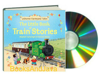 Llittle Book of Train Stories by Stephen Cartwright (2011, Hardcover & CD)