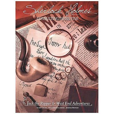 Sherlock Holmes Consulting Detective JACK THE RIPPER Board Game ENGLISH-OVP