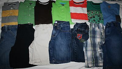 Boys Size 6 Summer Clothing Lot Of 14 Pieces