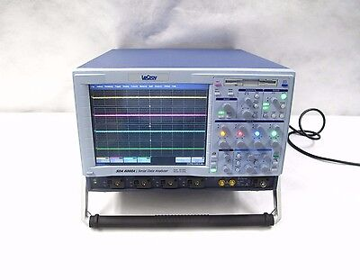 LeCroy SDA 6000A 6GHz DUAL 20GS/s 4Ch Serial Data Analyzer | Loaded