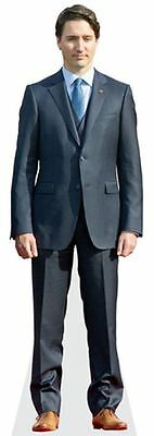Justin Trudeau Cardboard Cutout (lifesize OR mini size). Standee. Stand Up.