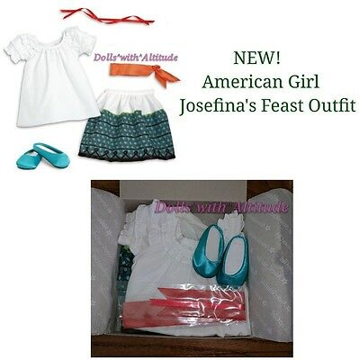 NEW IN BOX American Girl Josefina Feast Outfit for Doll