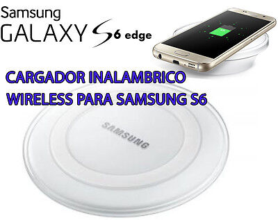 Cargador inalambrico QI Wireless Original Samsung Galaxy S6 y S6 Edge EP-PG920I