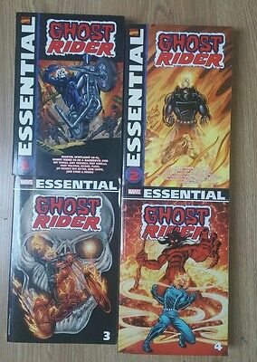 Marvel Graphic Novels Ghost Rider Vol 1 to 4