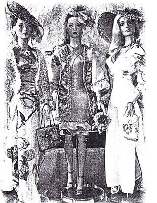"""3 different outfits Pattern  fits 16"""" Fashion doll Tyler Gene Tonner"""