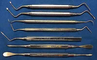 Hu-Friedy Oral Surgical Instruments - Lot of 7
