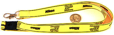 Rare Nikon 100th Anniversary collectible lanyard neck clip
