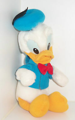 "Disney 10"" DONALD DUCK Very Soft Plush Toy"