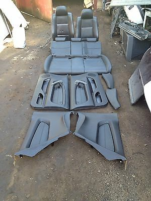 BMW 3 Series E46 Compact Black Leather Interior Complete