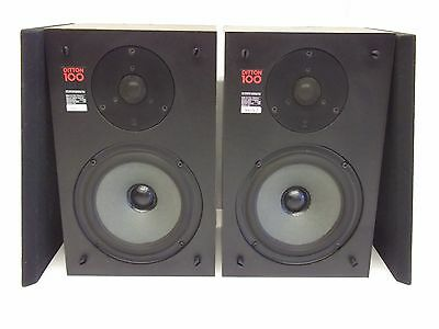 Vintage Celestion Ditton 100 HiFi Speakers - 40 W Made in England