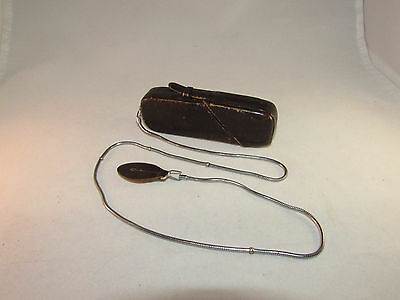 Vintage Minox B Camera, Case, Chain, Manual. Made in Germany