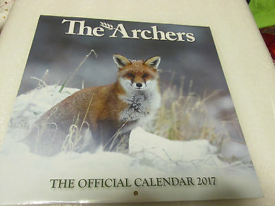 Calendar 2017 The Archers New Sealed