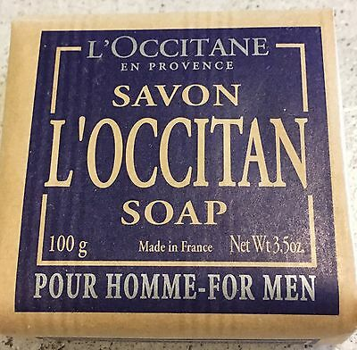L'Occitane Soap Pour Homme For Men 100g Made In France L'Occitan