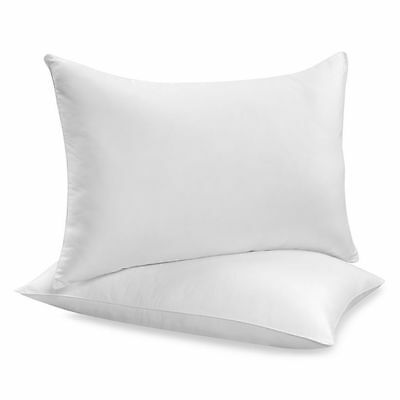 NEW LUXURY BOUNCE BACK HOLLOW FIBRE FILLED PILLOW PAIR ( Best Quality )
