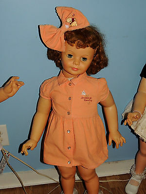 Orange Disney Corduroy Pooh Dress For  Patti Play Pal & Similar Dolls