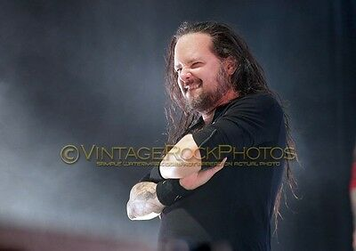 Jonathan Davis, KORN Photo 8x12 or 8x10 inch 2016 Manchester UK Live Concert SH5