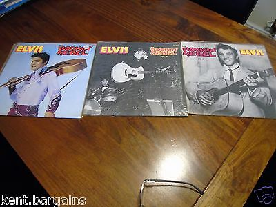 Elvis collection The Rockin Rebel All three Vols ,dont miss out!!!!