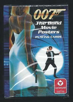 James Bond Movie Posters Playing Cards Sealed Deck