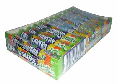 Life Savers - Fruit Pastilles (24 Roll Display Unit)