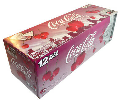Coca-Cola - Cherry (12 x 355ml Cans in a Display Unit)