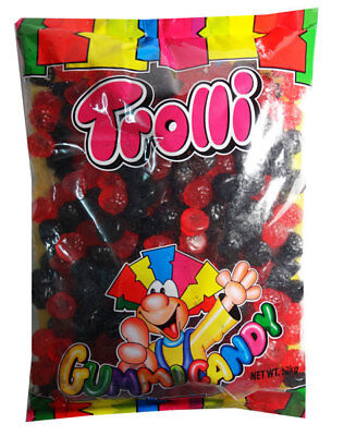 Trolli Raspberry and Blackberry, Oiled (2kg bag - approx 333 pcs)