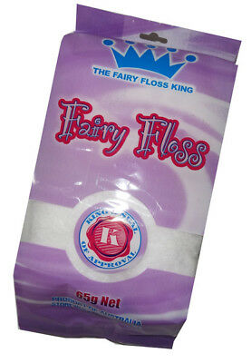 The Fairy Floss King (65g bag - White)