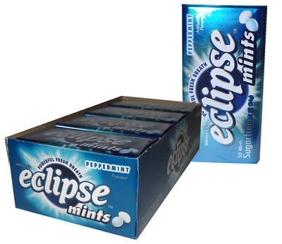 Eclipse Mints Peppermint (8 x 50pc Tins in a Display)