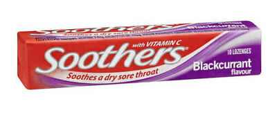 Allens Soothers - Blackcurrant (36 pack)