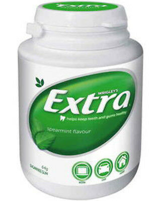 Extra Gum - Spearmint (6 x 46pc Bottle in a Display unit)