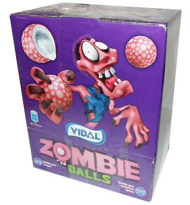 Vidal Zombie Balls Bubble Gum (200 pc display unit)