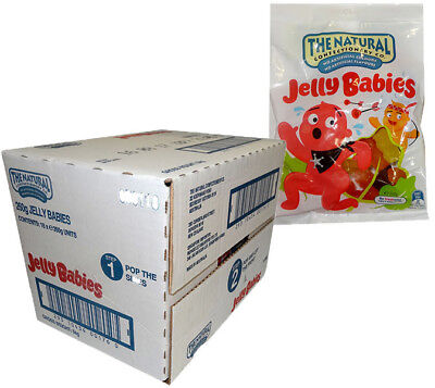 The Natural Confectionery Co. - Jelly Babies (260g bag x 18pc box)