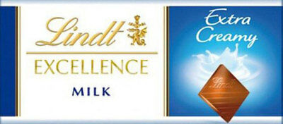 Lindt Excellence - Milk Chocolate Bars (24 x 35g display unit)