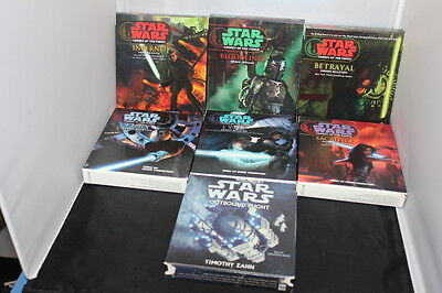 STAR WARS LOT OF 7 AUDIO BOOKS ON CD 42 Total Hours