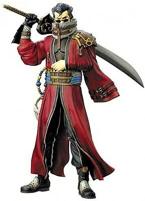 Final Fantasy X Play Arts Auron PVC Action Figure Square Enix from Japan F/S New