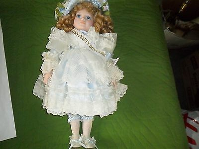 "Limited Edition Collection 1995 ""eaton Beauty""porcelain Doll-New In Box-Dynasty"