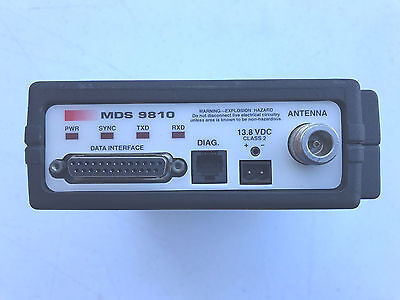 (3) Microwave Data Systems MDS 9810 Spread Spectrum Transceiver