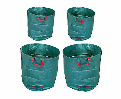 4 x XXL Garden Rubbish Bag Compost bag Grass bag Rubbish sack Garden Lawn