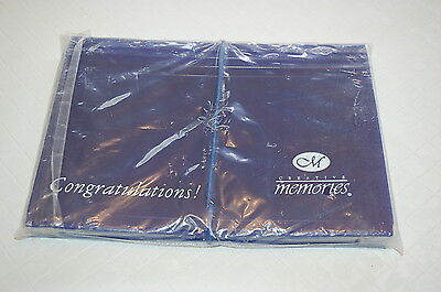 "Creative Memories ""Congratulations"" Expandable Photo File Holder NIP"