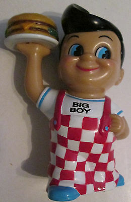 Big Boy 8 Inch Vinyl Bank 1999 RARE Collectible Ad Figure Clean Elias Brothers