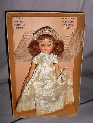 JOANIE WALKER DOLL by P.M.A. - A MINT IN BOX 1950'S VOGUE GINNY WANNABE