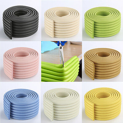 2M Baby Child Kid Safety Corner Protection Desk Table Edge Cover Protector Strip