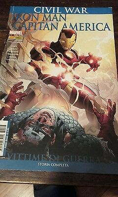 Civil war..iron man e capitan america: vittime di guerra  (iron man e i vend 88)