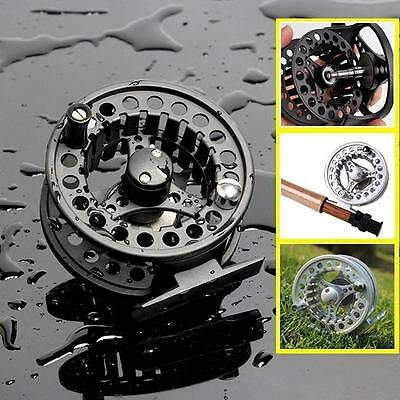 Full Metal Fly Fishing Reel Former Ice Fishing Vessel Wheel Fish Reels NEW - Y2