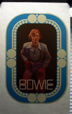 LAST1 NOS 70's vtg David Bowie spiders from mars ziggy stardust T-Shirt Iron-On