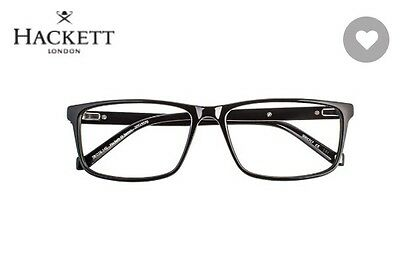 Hackett St James Black Men's Designer Glasses