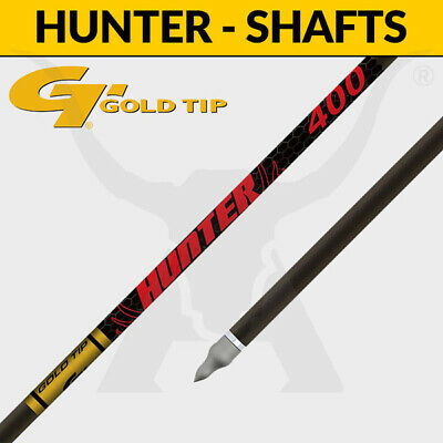 Gold Tip Hunter Shafts - Carbon Arrows for 3D Target Archery and Hunting