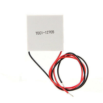 1pc TEC1-12705 5A 12V 65℃ Thermoelectric Cooler Cooling Peltier Plate Module DIY