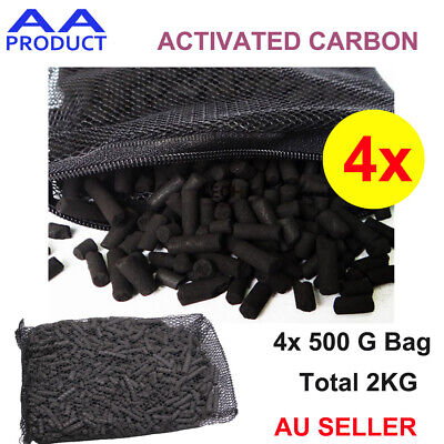 2KG Activated Carbon Air and Water Filter Purification for Car Fridge Fish Tank